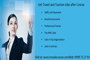 Travel and Tourism Jobs in india